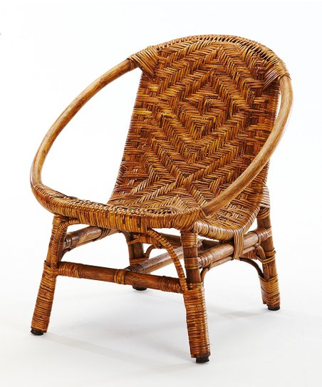 Honey Oval Rattan Chair