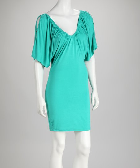 Soul Revival Mint Cutout Kelly Dress