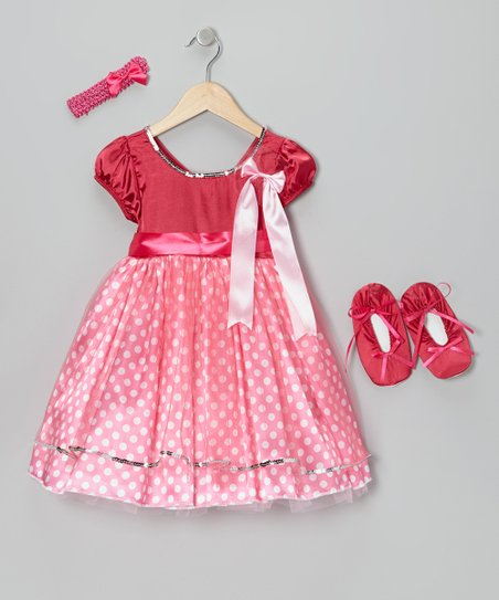 Pink Dots of Love Dress-Up Set