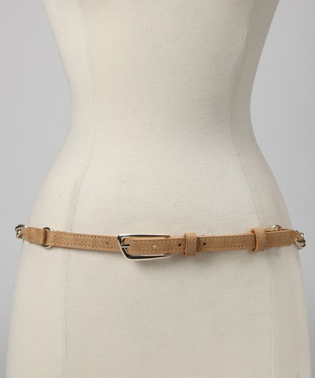 Natural Chain Overlay Belt