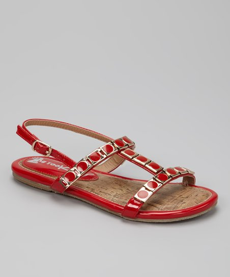 Red K-Zara Sandal