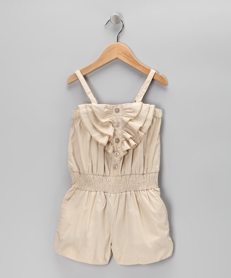 Khaki Shell Romper
