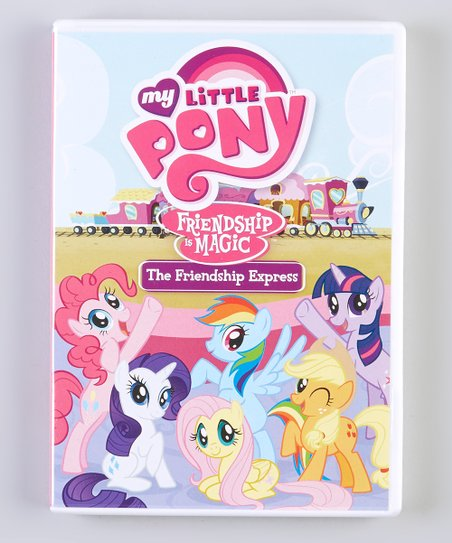 My Little Pony Friendship Is Magic: The Friendship Express DVD