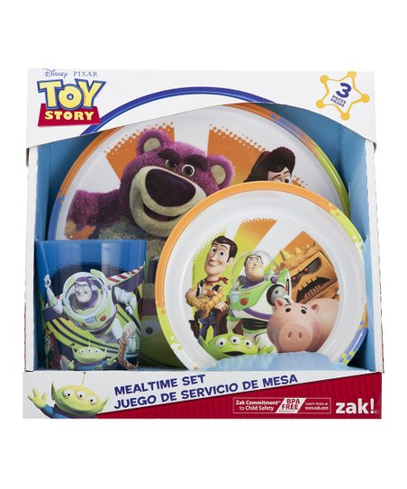 Toy Story 3 Three-Piece Dinner Set