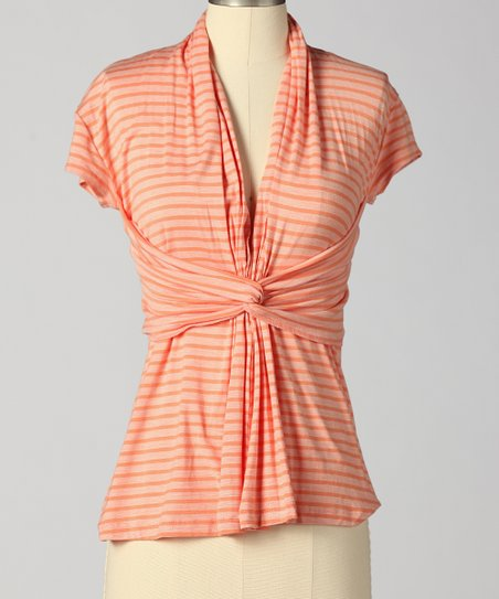 Spiced Coral Travel Time Top