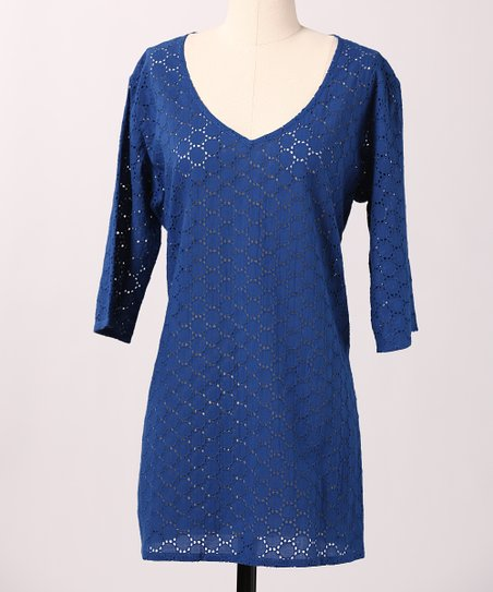 Blue Cape Cod Tunic