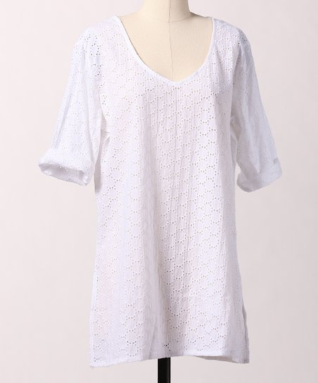 White Cape Cod Tunic