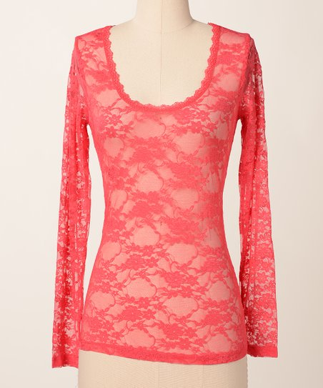 Cayen Lace Lover Long-Sleeve Tee