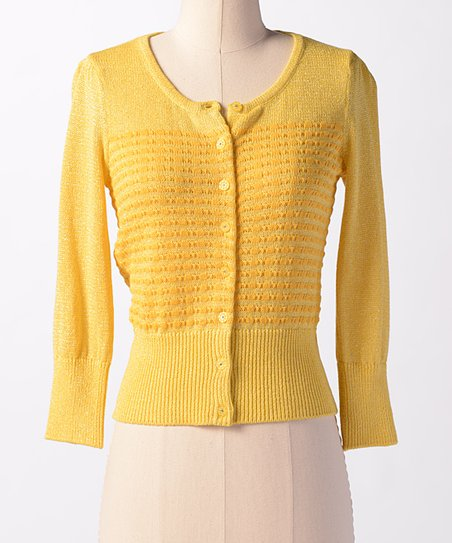 Lemon Spring Sky Cardigan