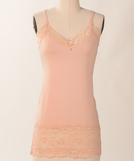 Toast Double Lace Camisole