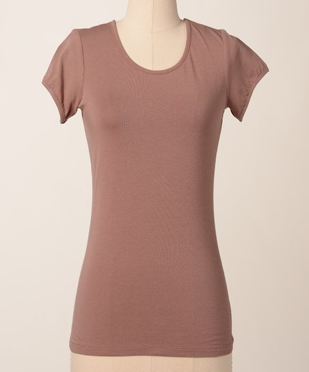 Brownie Favorite Scoop Neck Tee