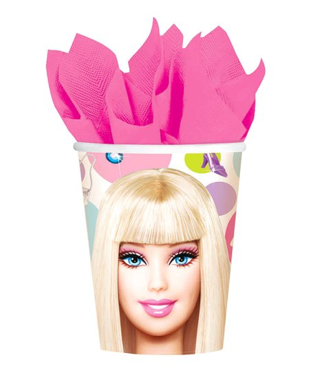 Barbie All Dolled Up Cup - Set of Eight