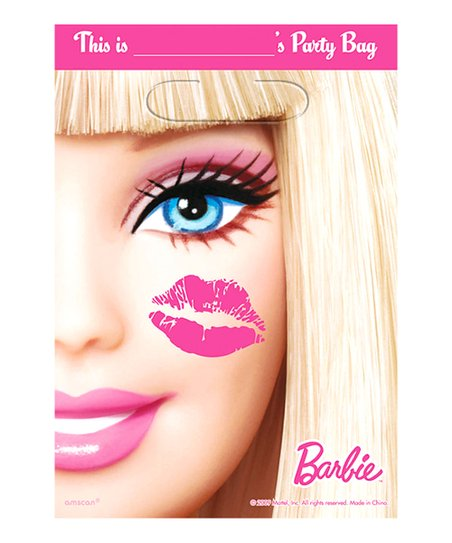Barbie Loot Bag - Set of Eight