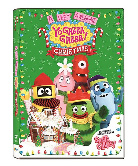 A Very Awesome Yo Gabba Gabba! Christmas DVD