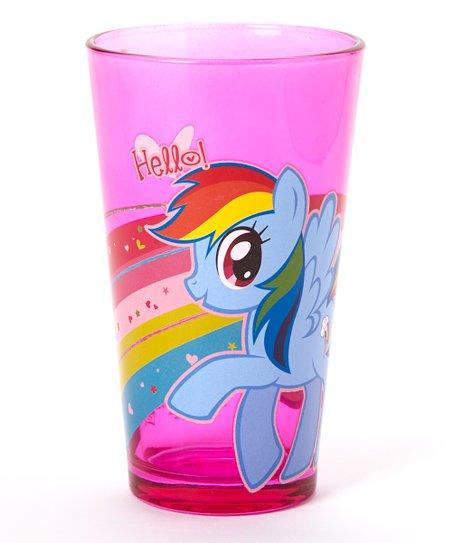 Pink My Little Pony 'Hello' Glass