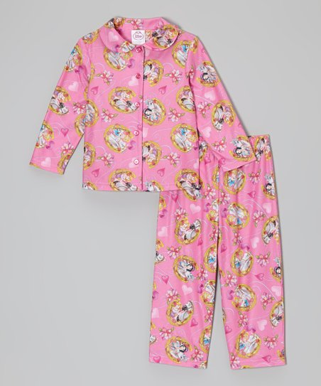 Pink Horse Princess Pajama Set - Toddler