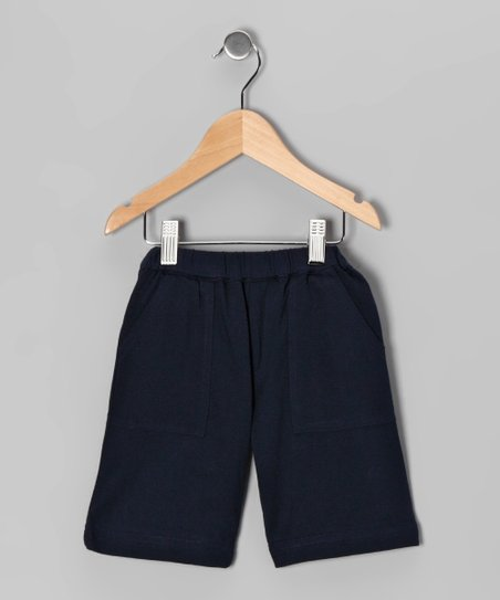 Blue Basic Shorts - Infant