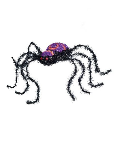 Purple Sparkly Spider