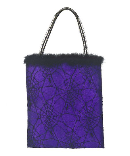 Purple Spider Treat Bag