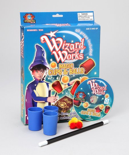 Wizard Works Cup & Balls Kit