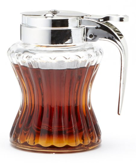 Clear Syrup Dispenser