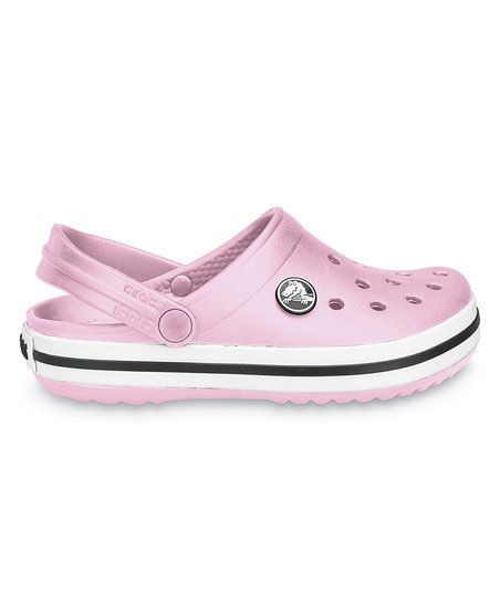 Bubble Gum Crocband Clog