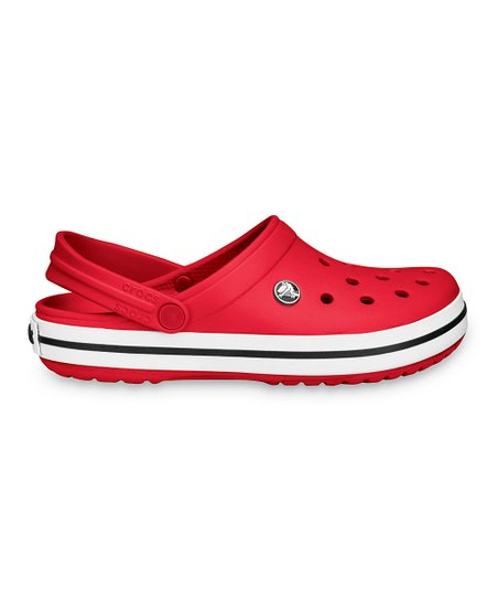 Red Crocband Clog - Men &amp; Women