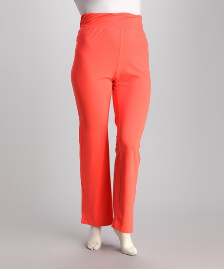 Neon Mango Lounge Pants - Plus