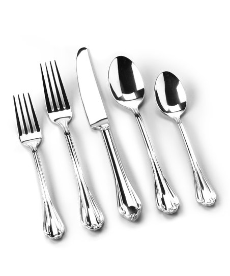 Royal Chippendale 20-Piece Flatware Set