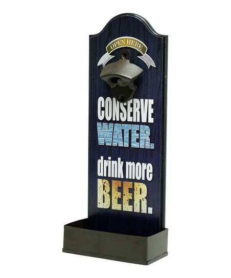 'Conserve Water' Bottle Opener