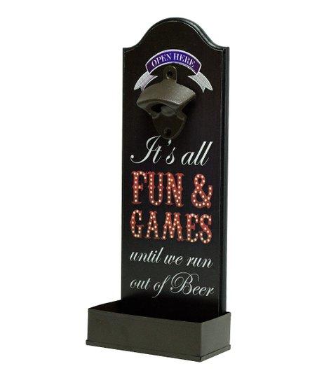 'Fun & Games' Bottle Opener