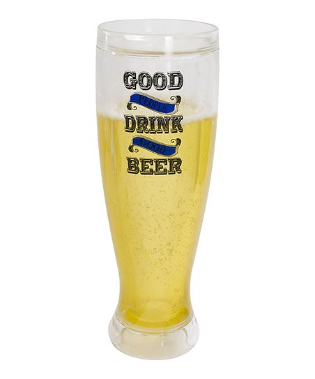 'Good Beer' Pilsner Insulated Glass