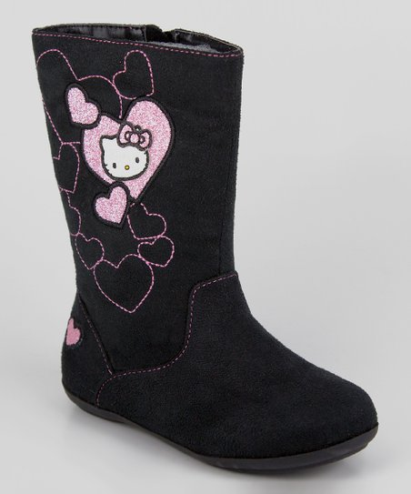 Black Hello Kitty Lil Sophia Boot