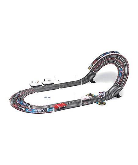 Two-Car High-Speed Inclined Racetrack Set