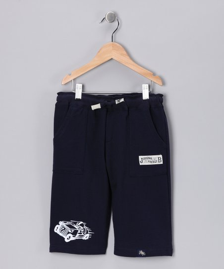 Navy Cropped Pants - Infant, Toddler &amp; Boys