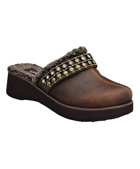 Brown Carletta Clog