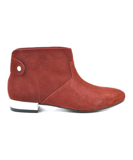 Wine Senna Ankle Boot
