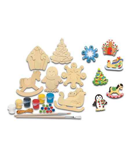 Wood Ornament Kit