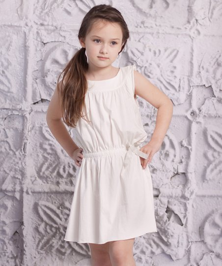 White Alba Dress - Infant, Toddler & Girls
