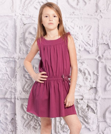 Purple Alba Dress - Infant, Toddler & Girls