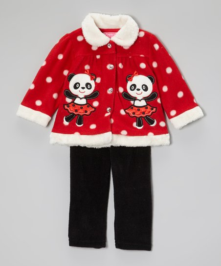 Red Panda Jacket & Pants - Infant