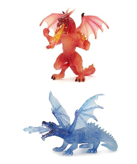 Crystal & Fire Dragons Set