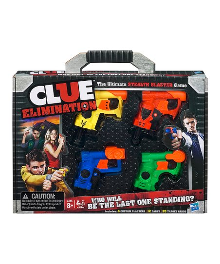 Clue Elimination Game