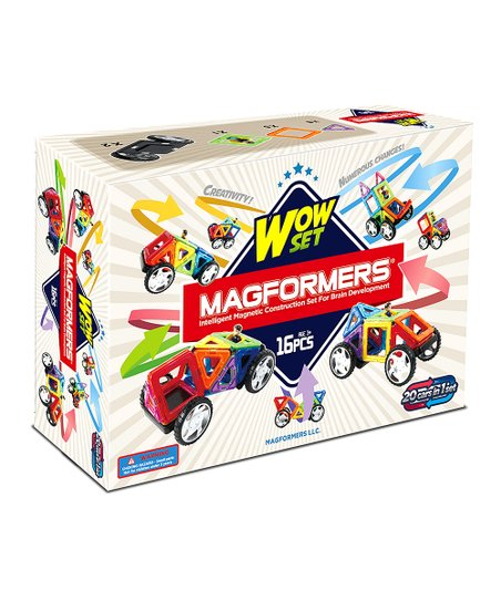 Wow 16-Piece Magformers Set