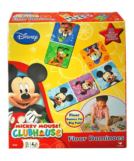 Mickey Mouse Clubhouse Floor Dominoes Set