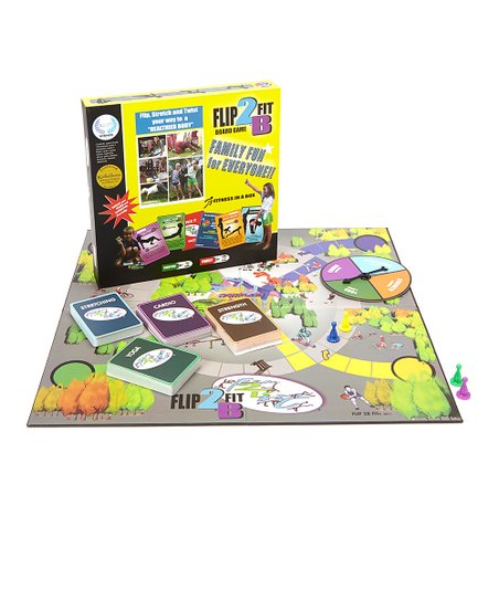 Fitness in a Box Board Game