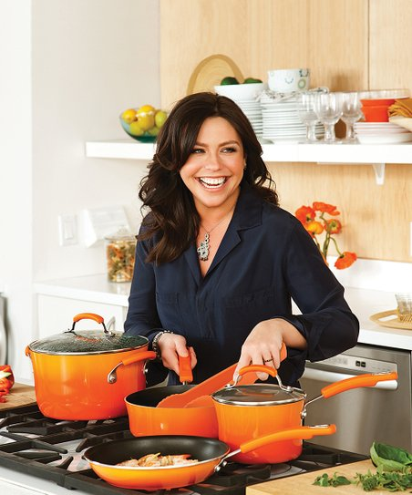 Orange Gradient 12-Piece Cookware Set