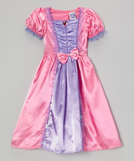 Pink & Purple Princess Dress - Toddler & Girls