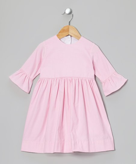 Pink Corduroy Dress - Infant