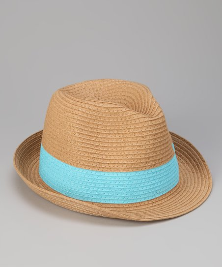 Turquoise Band Fedora